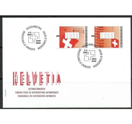 Znaczek Szwajcaria 2005 Mi aut 15-16 (0085) FDC