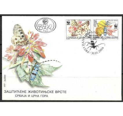Znaczek Jugosławia 2004 Mi 3173-3174 FDC