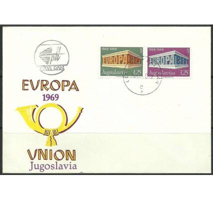 Znaczek Jugosławia 1969 Mi 1361-1362 FDC