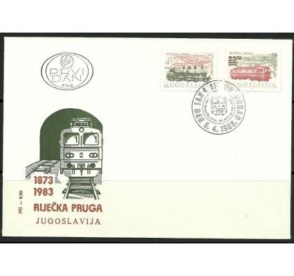 Znaczek Jugosławia 1983 Mi 1981-1982 FDC