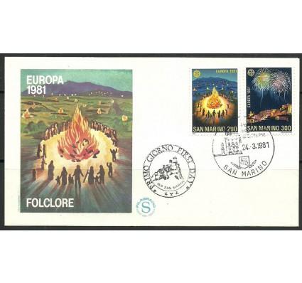 Znaczek San Marino 1981 Mi 1225-1226 FDC