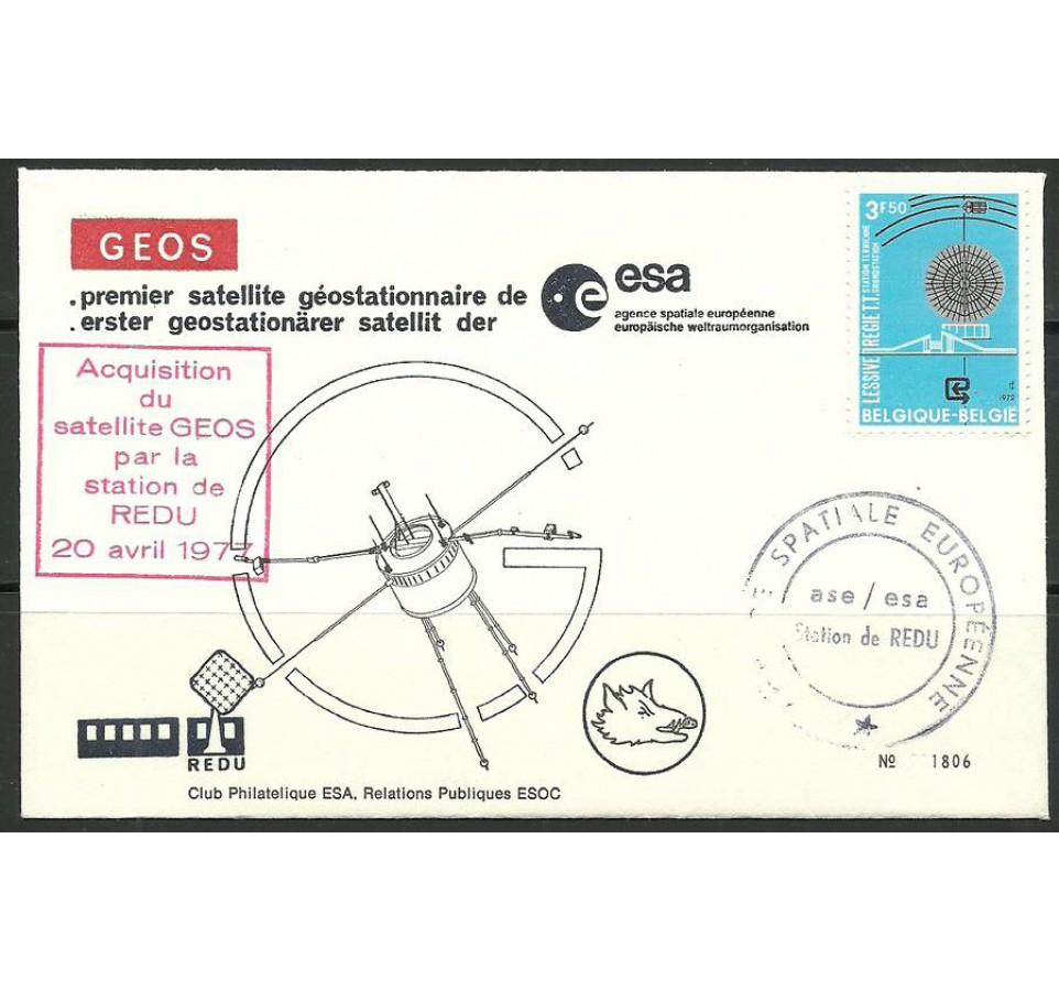 Belgia 1972 Mi 1695 FDC