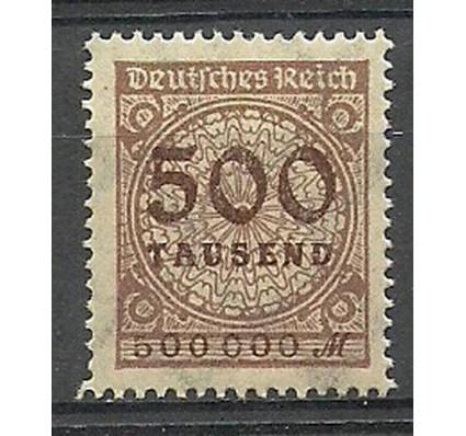 Znaczek Deutsches Reich / III Rzesza 1923 Mi 313 Czyste **
