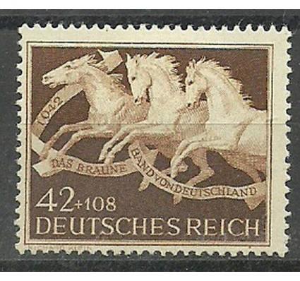Znaczek Deutsches Reich / III Rzesza 1942 Mi 815 Z podlepką *