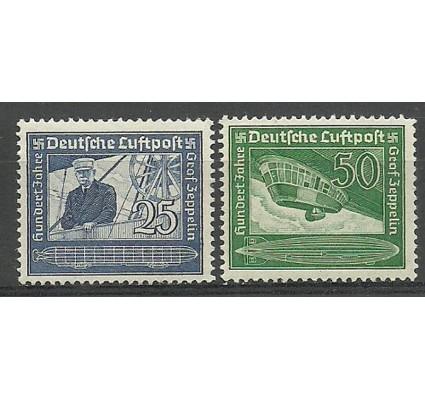 Znaczek Niemcy 1938 Mi 669-670 Czyste **