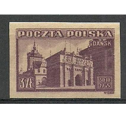 Znaczek Polska 1945 Mi 412B Fi 379A Czyste **