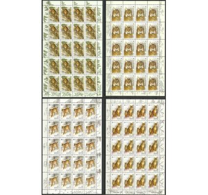 Znaczek Białoruś 2000 Mi ark 373-376 Czyste **