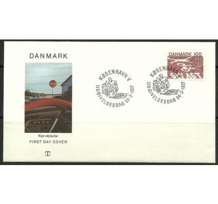 Znaczek Dania 1977 Mi 637 FDC