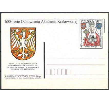 Znaczek Polska 2000 Fi 1231 Całostka pocztowa