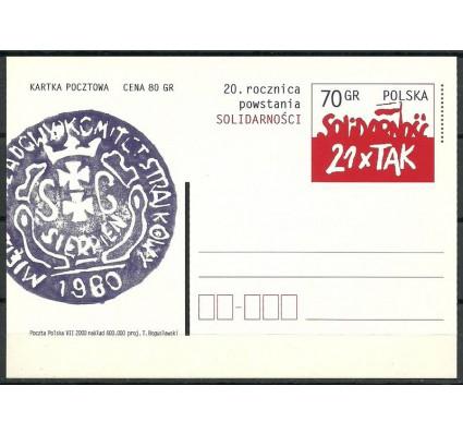 Znaczek Polska 2000 Fi 1235 Całostka pocztowa