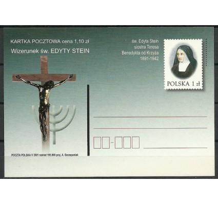 Znaczek Polska 2001 Fi 1257 Całostka pocztowa