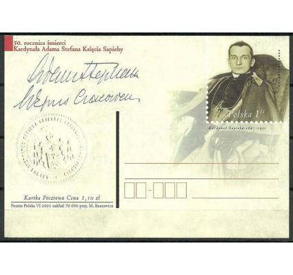 Znaczek Polska 2001 Fi 1262 Całostka pocztowa