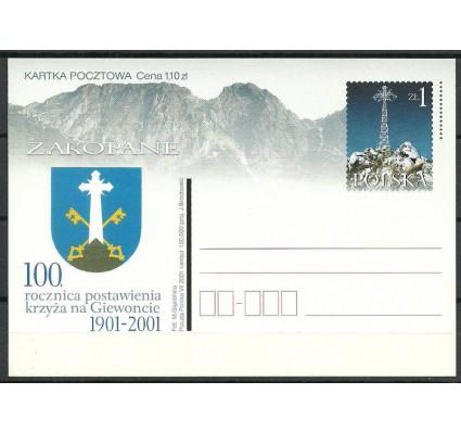 Znaczek Polska 2001 Fi 1264 Całostka pocztowa