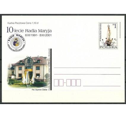 Znaczek Polska 2001 Fi 1271 Całostka pocztowa