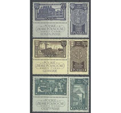 Znaczek Polska 1962 Mi zf1319-1324C Fi zf 1171-1176 Czyste **
