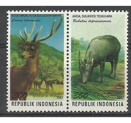 Znaczek Indonezja 1997 Mi 1740-1741 Czyste **