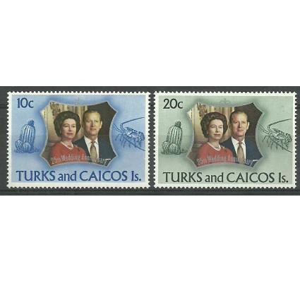 Znaczek Turks i Caicos 1972 Mi 299-300 Czyste **