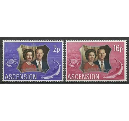 Znaczek Wyspa Wniebowstąpienia 1972 Mi 164-165 Czyste **