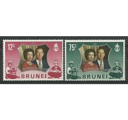 Znaczek Brunei 1972 Mi 180-181 Czyste **