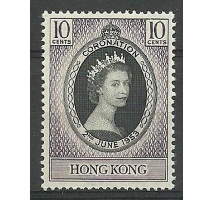 Znaczek Hong Kong 1953 Mi 177 Czyste **