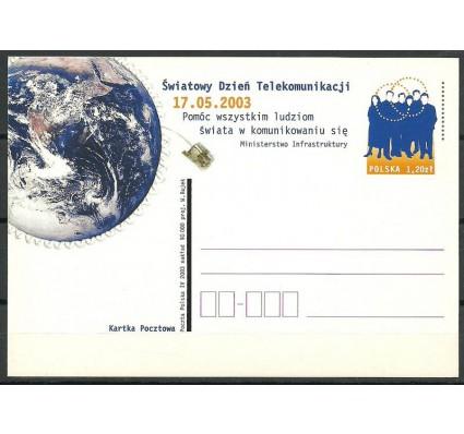 Znaczek Polska 2003 Fi 1308 Całostka pocztowa