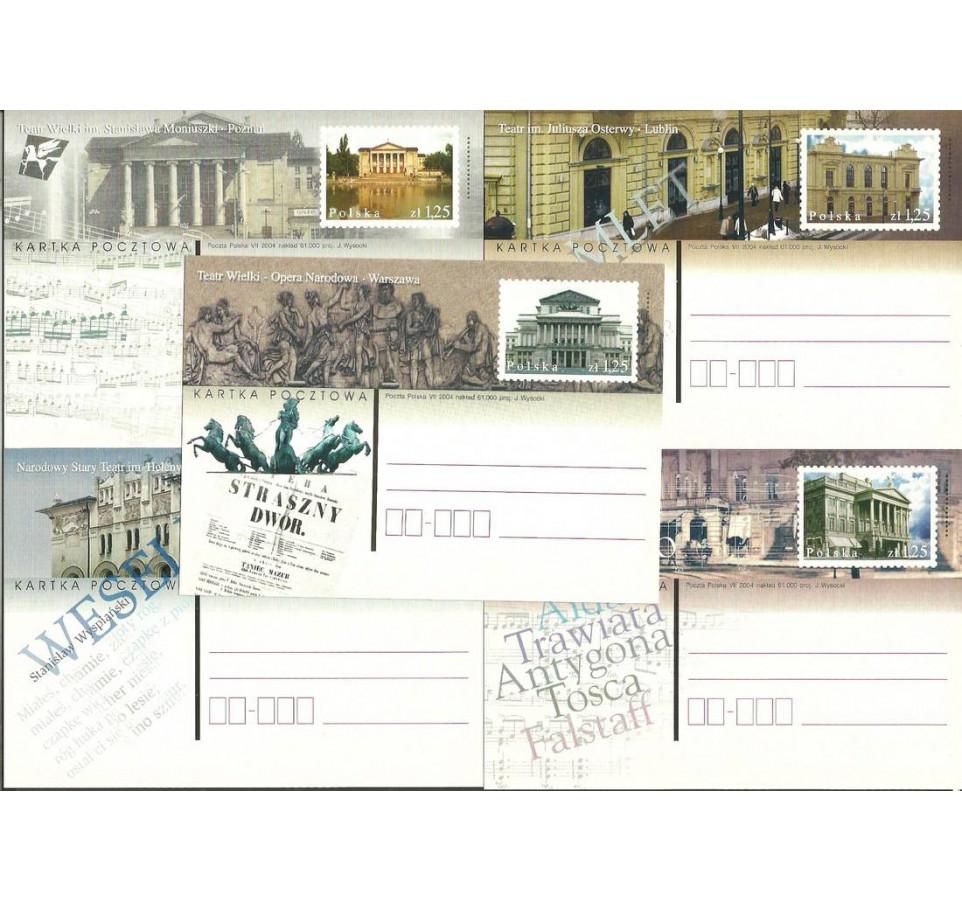 Polska 2004 Fi 1345-1349 Całostka pocztowa