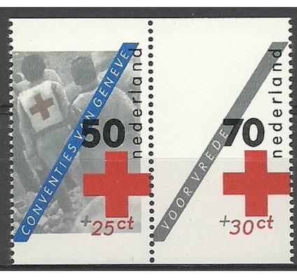 Znaczek Holandia 1983 Mi 1236C+1239C Czyste **