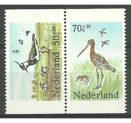 Znaczek Holandia 1984 Mi 1246C+1249D Czyste **