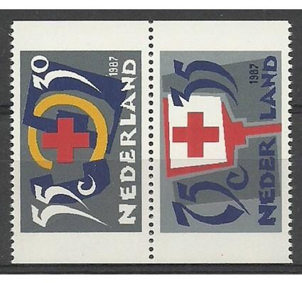 Znaczek Holandia 1987 Mi 1323C+1325C Czyste **