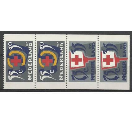 Znaczek Holandia 1987 Mi 1323C-1325D Czyste **