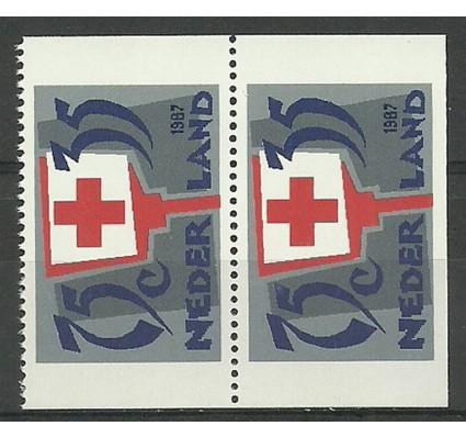 Znaczek Holandia 1987 Mi 1325C,D Czyste **