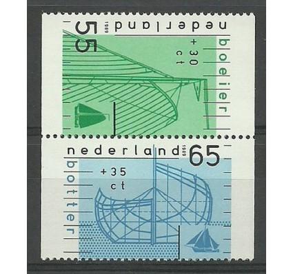 Znaczek Holandia 1989 Mi 1361C-1362D Czyste **
