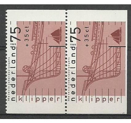 Znaczek Holandia 1989 Mi 1363D,E Czyste **