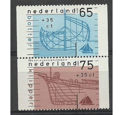 Znaczek Holandia 1989 Mi 1362D-1363D Czyste **