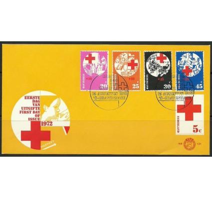 Znaczek Holandia 1972 Mi 994-998 FDC