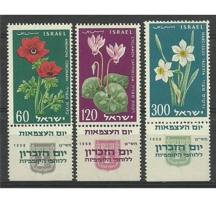 Znaczek Izrael 1959 Mi 179-181 Czyste **