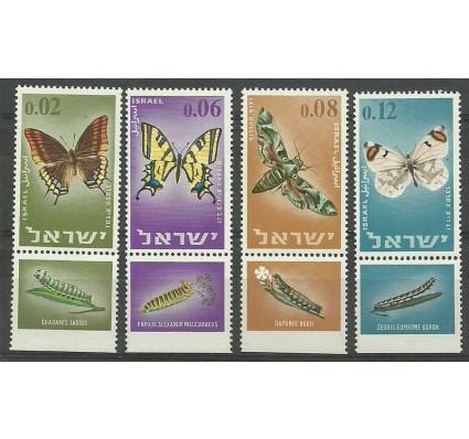Znaczek Izrael 1965 Mi 352-355 Czyste **