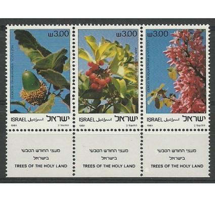Znaczek Izrael 1981 Mi 868-870 Czyste **
