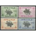 Bahawalpur (Pakistan) 1949 Mi 26-29 Czyste **