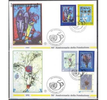 Znaczek Watykan 1995 Mi 1153-1157 FDC