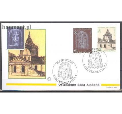 Znaczek Watykan 1998 Mi 1244-1245 FDC