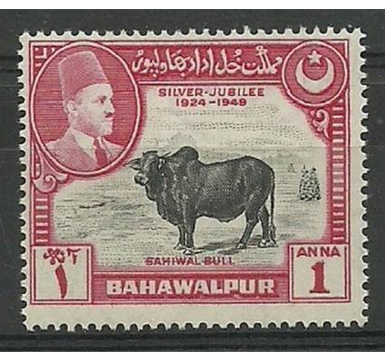 Znaczek Bahawalpur (Pakistan) 1949 Mi 25 Czyste **