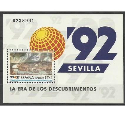 Znaczek Hiszpania 1992 Mi bl 43 Czyste **