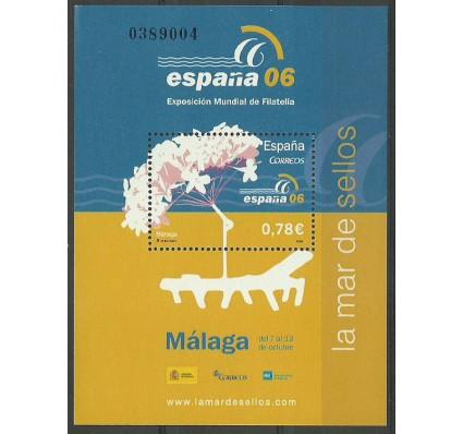 Znaczek Hiszpania 2006 Mi bl 150 Czyste **
