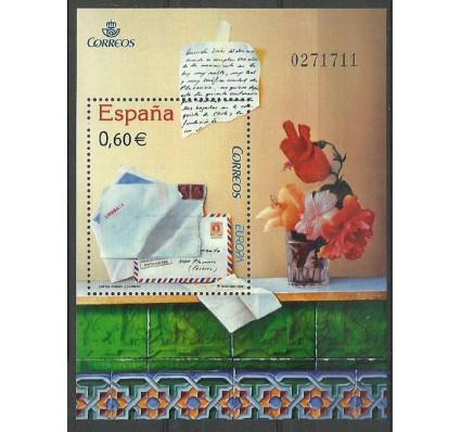 Znaczek Hiszpania 2008 Mi bl 166 Czyste **