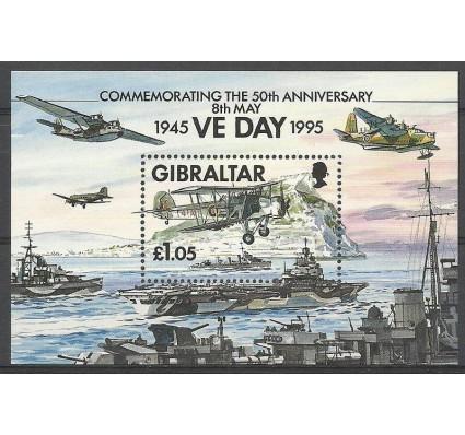 Znaczek Gibraltar 1995 Mi bl 21 Czyste **