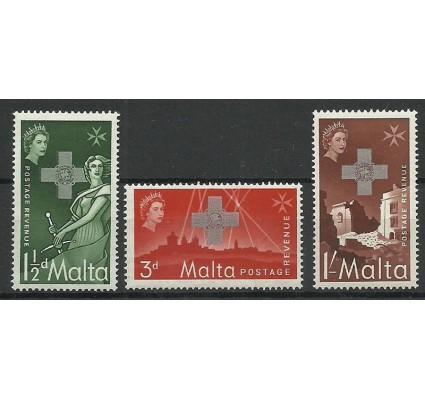 Znaczek Malta 1957 Mi 254-256 Czyste **