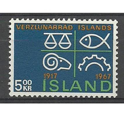 Znaczek Islandia 1967 Mi 412 Czyste **