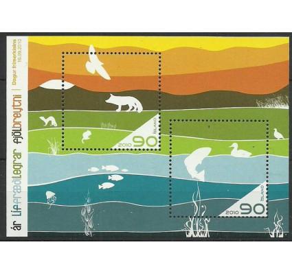 Znaczek Islandia 2010 Mi bl 51 Czyste **