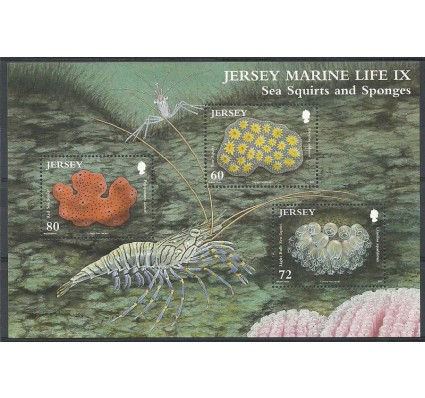 Znaczek Jersey 2011 Mi bl 90 Czyste **